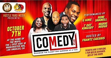 The J Spot Comedy Club Presents: Comedy 911 LA tickets