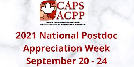 2021 National Postdoc Appreciation Week (September 20 -  24) tickets