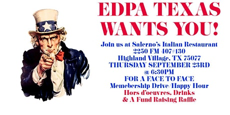 EDPA Texas Membership Happy Hour tickets