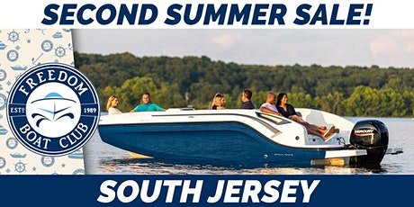 Second Summer is here! We make boating simple! tickets