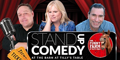 Stand Up Comedy at The Funny Farm at Tilly's Table tickets