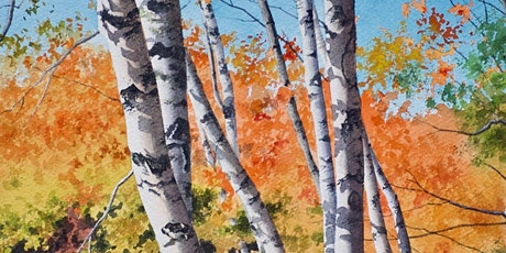 Painting the Vibrant Fall Colors in Watercolor tickets