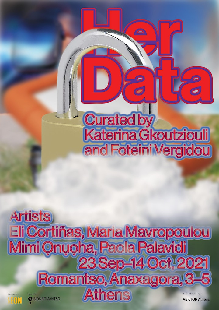 Her Data - Exhibition image