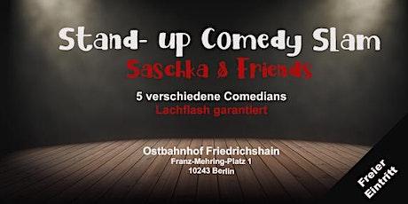 Stand-up Comedy Slam mit Saschka & Friends - Open Mic Tickets