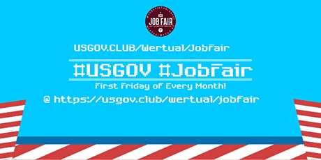 Monthly #USGov Virtual JobExpo / Career Fair #Boston tickets