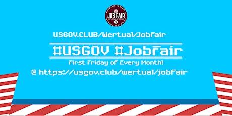 Monthly #USGov Virtual JobExpo / Career Fair #Washington tickets