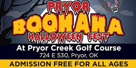 Pryor Boohaha: Halloween Fest tickets