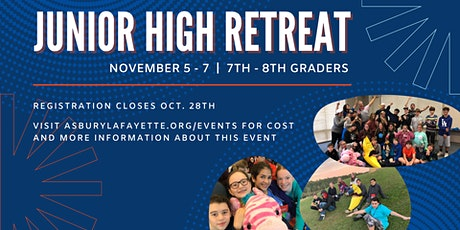 A.Y.M. (Asbury Youth Ministries) - Jr High Retreat tickets