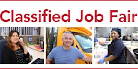 Santa Clara County Classified Job Fair tickets