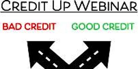 Credit Up Webinar tickets
