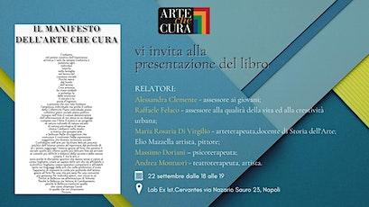 """Presentazione del libro """"Il manifesto dell'Arte che Cura"""" biglietti"""