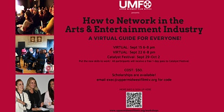 How to Network in the Arts & Entertainment Industry tickets