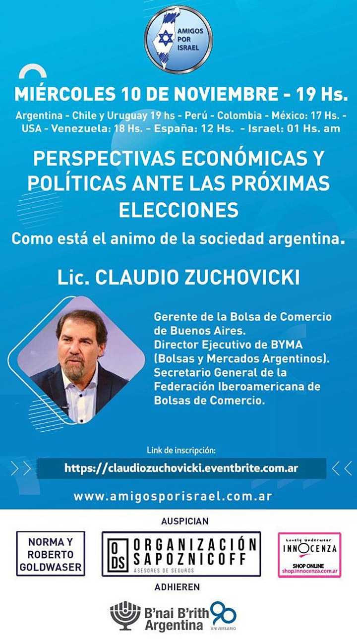 Imagen de PERSPECTIVAS EONOMICAS Y POLITICAS FRENTE A LAS PROXIMAS ELECCIONES