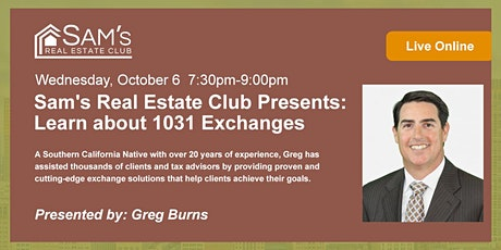 Learn about 1031 Exchanges tickets