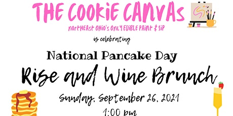 Rise and Wine Brunch with The Cookie Canvas tickets