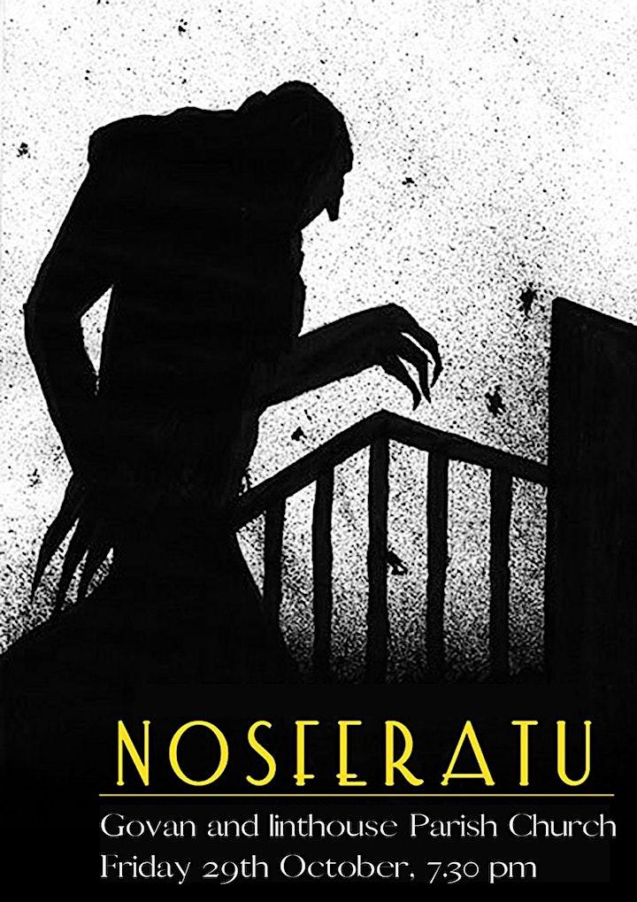 Nosferatu - horror silent movie image