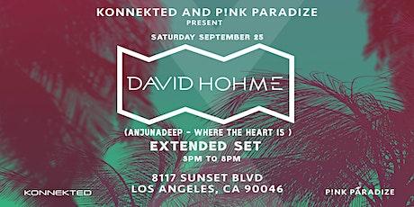 Day Party w/ DAVID HOHME (Anjunadeep) tickets