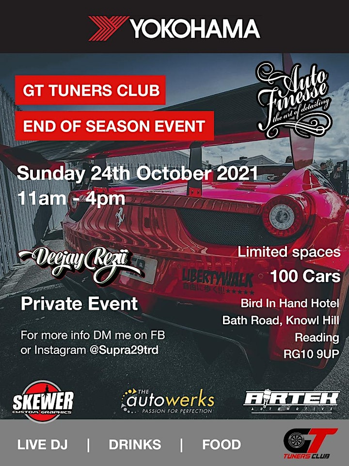 GT Tuners Club - End of Season Event image