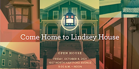 Come Home to Lindsey House - Open House tickets