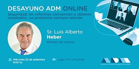 Desayuno ADM Online  Seguridad: las reformas comienzan a obtener resultados entradas