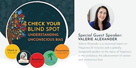Check Your Blind Spot - Understanding Unconscious Bias tickets