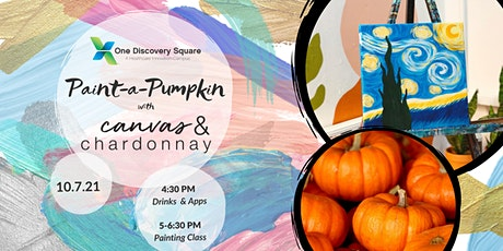 Paint-a-Pumpkin with Canvas & Chardonnay tickets