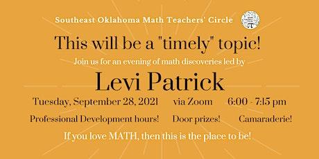 Southeast Oklahoma Math Teachers' Circle  - First Meeting of Fall 2021! tickets