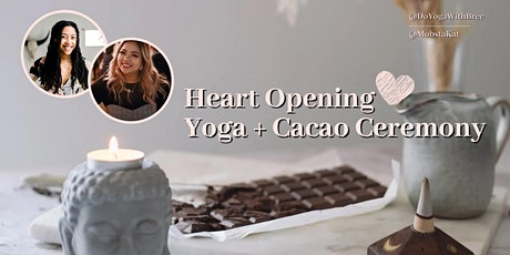 HEART OPENING YOGA + CACAO CEREMONY + SOUND HEALING + ORACLE CARDS tickets