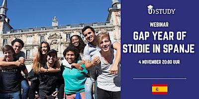 Gratis webinar Gap Year of Studie in Spanje