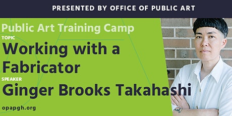 Public Art Training Camp: Working with a Fabricator tickets