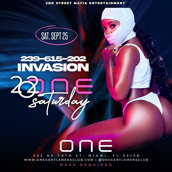 202ONE SATURDAY NIGHT LIVE AT ONE GENTLEMEN'S CLUB IN MIAMI image
