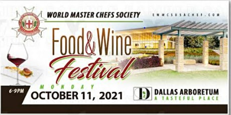 World Master Chef Society Food and Wine Festival tickets