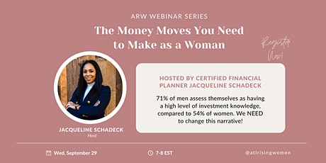 The Money Moves You Need to Make as a Woman tickets
