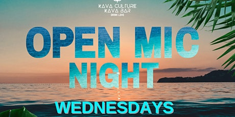 Open Mic at Fort Myers Beach Kava Culture tickets