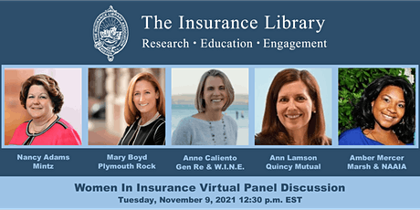 Women in Insurance Panel Discussion tickets
