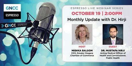Espresso Live  with Dr. Hirji:  October 19,  2021 Tickets