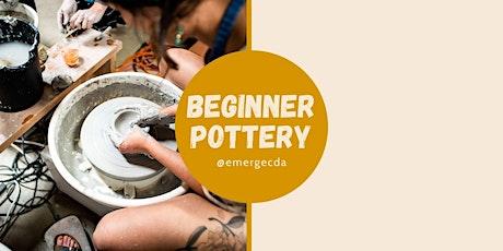 Evening Beginner Pottery with Louise Schollaert tickets