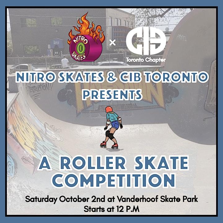 CIB Toronto x Nitro Skate's Roller Skate Competiti image