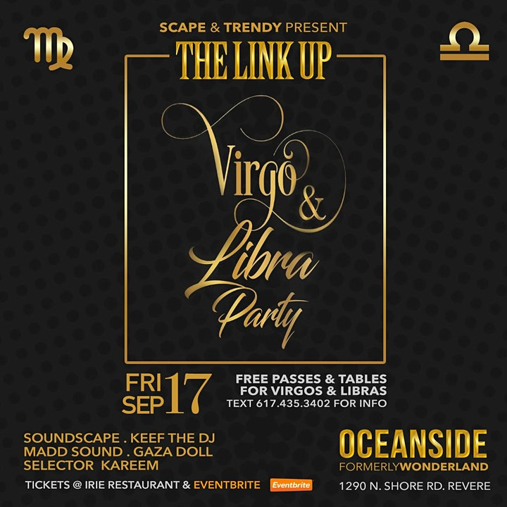 The LINK UP Virgo and Libra Party image