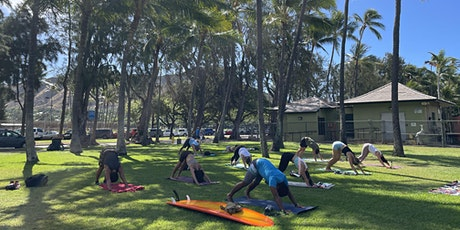 Outdoor Yoga at Sans Souci by the Aquarium tickets