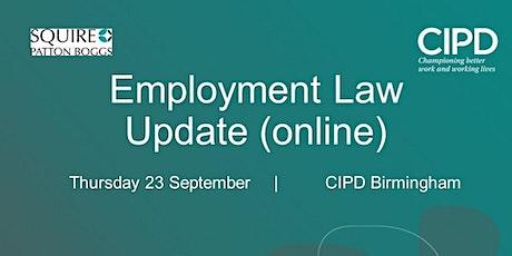 Now Online: Employment Law Update tickets
