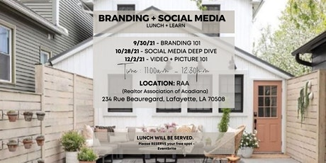 Lunch + Learn (Building a Business Brand, for Social Media) tickets