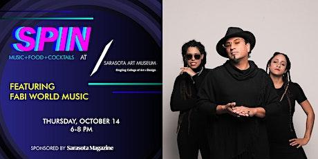 SPIN - Featuring FABI World Music tickets