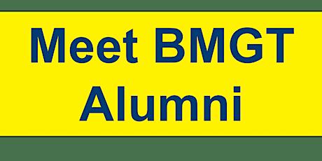 Meet our BMGT alumni tickets