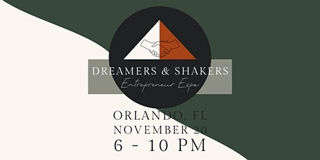 Dreamers & Shakers Entrepreneur Expo tickets