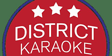 District Karaoke League Registration - Fall 2021 tickets