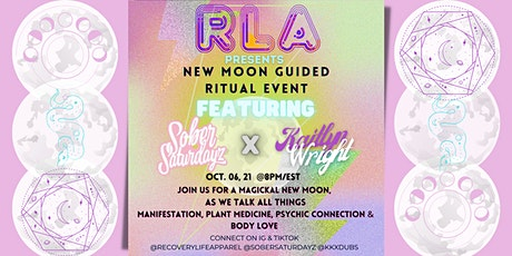 RLA  presents New Moon guided Ritual Event tickets