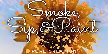 Smoke, Sip, & Paint tickets