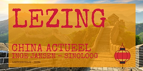 Lezing - China actueel tickets
