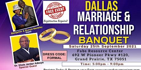 DALLAS MARRIAGE & RELATIONSHIP BANQUET tickets